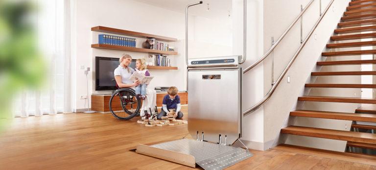 Rollstuhllift bzw. Plattformlift